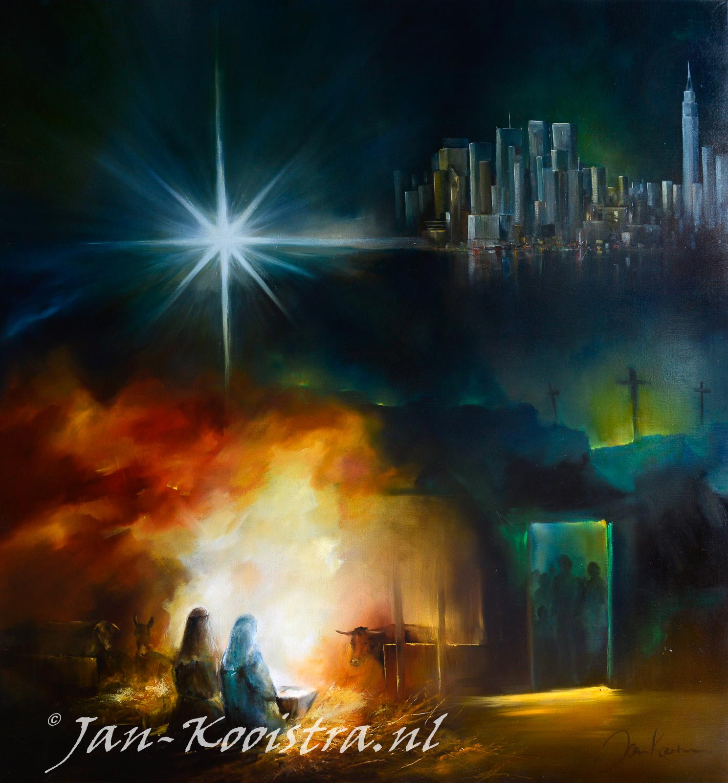 Lucas 2:7 de geboorte van Jezus