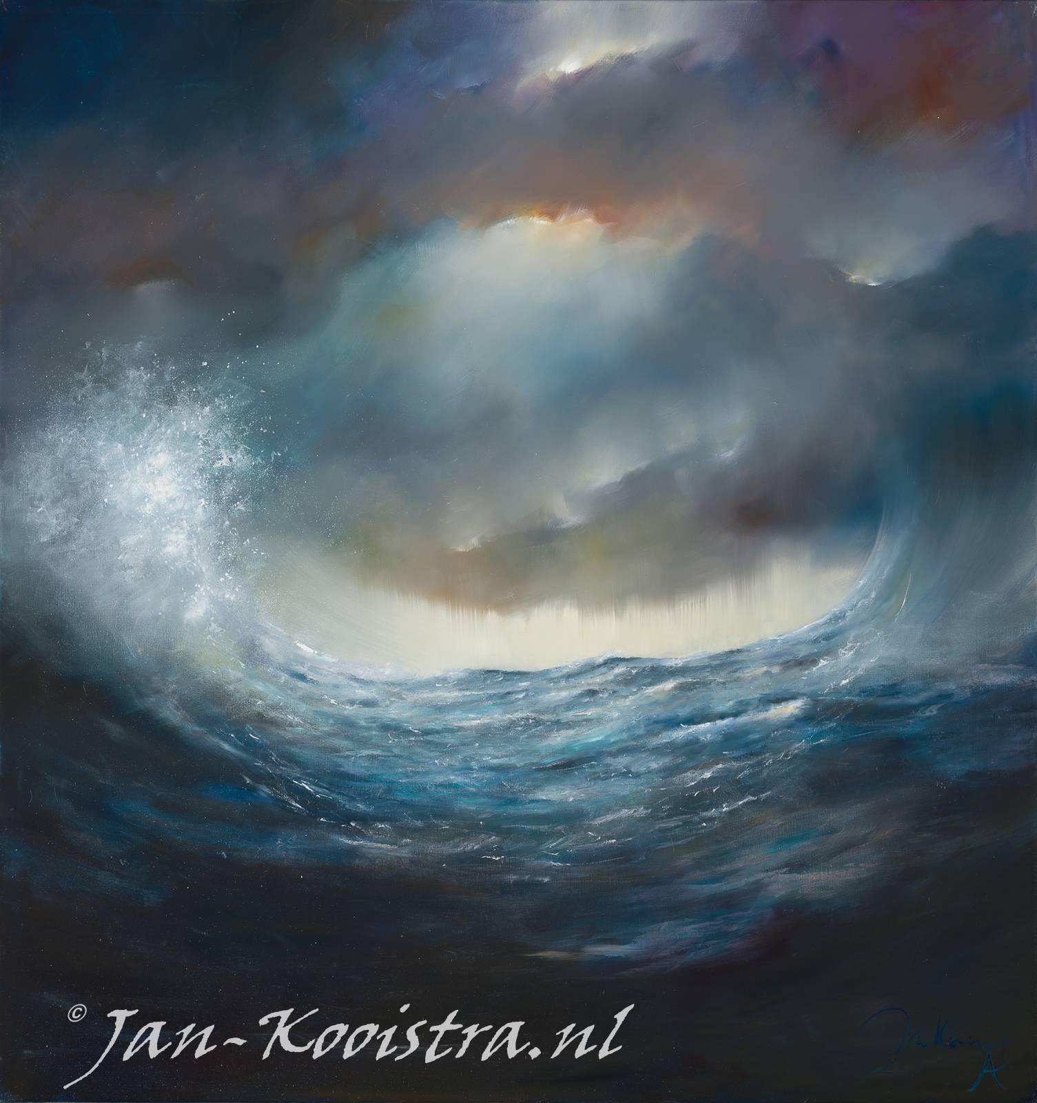 Dan zegt God: kome er een gewelf in het water