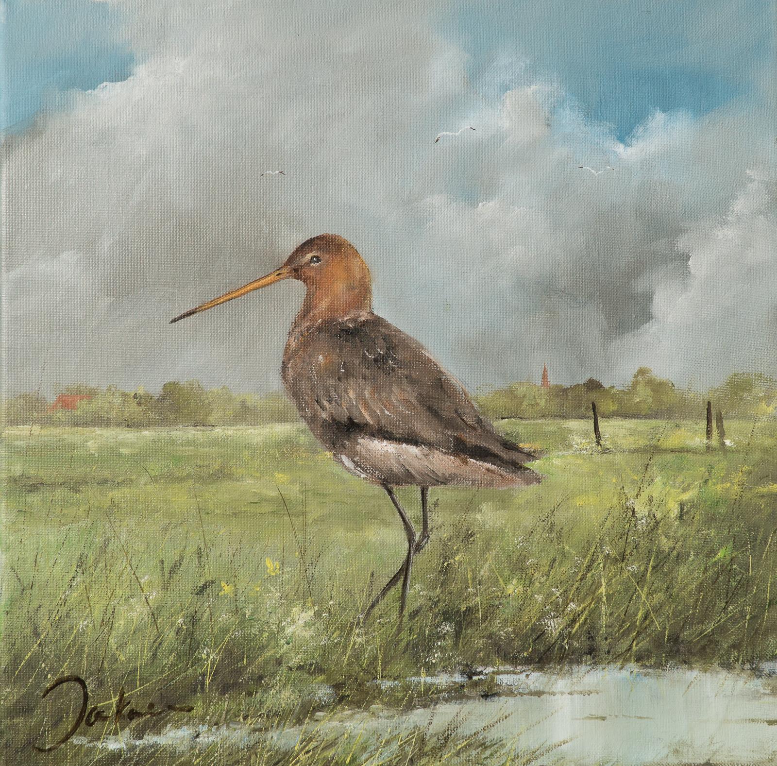 Grutto schilderij Jan Kooistra